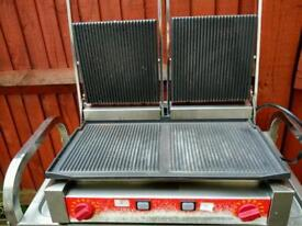 Commercial Ital contact Grill, Panini maker.