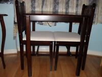 Beautiful Table and chair with 2 Chair , can use for study table as well