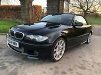 BMW 330 CI Convertible Low Miles 62,000 AUTO **30 DAY ENGINE AND GEARBOX WARRANTY**