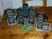 Quad Bt 6500 Answer Phone and Digital/Cordless Phone System - A SPARE HANDSET/CHARGER included.