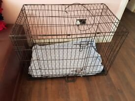 Large dog cage would swop.for small or sell