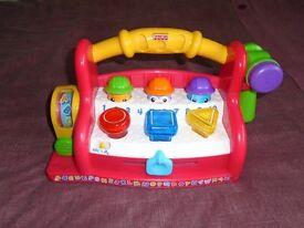 MUSICAL FISHER PRICE TOOL BOX TOY
