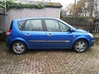 Renault scenic 54 plate spares or repair see discription