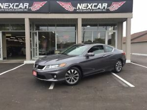 2013 Honda Accord EX-L C0UPE AUT0 LEATHER NAVI SUNROOF 89K