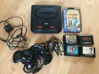 Sega Megadrive 2 with games - 2 controllers