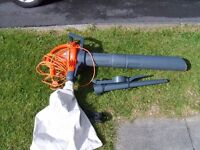 Flymo 2500 Twister garden vac ( very little used ).