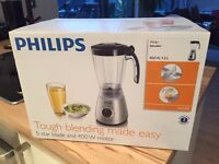 Philips 400w 1.5L Blender (great for soups and smoothies) - NEW IN BOX
