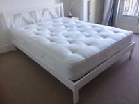 King size wooden bed & mattress ** Discounted ** Quick Sale **