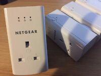 Netgear 500 Powerline Adaptors (Set of 4)