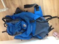 Blue valley 70l rucksack