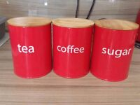 For sale is this Tea, coffee and sugar set In Excellent condition