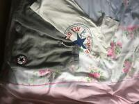 Converse shorts & t shirt set