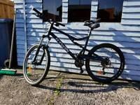 B-twin full sus mountain bike