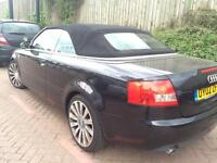 Audi A4 3.0 2002 convertible drives awesome bargain bargain fully loaded 18inc alloys.. Not BMW golf