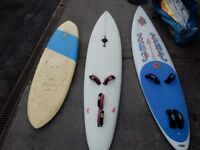 WIND SURFING BOARDS WITH SAILS