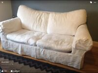 2 seater sofa bed. Priced for quick sale. Collection asap.