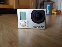 Go pro Hero 3 Plus black 4K + Selfie stick