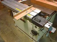 Carpentry machinery power tools equipment for sale Heathrow London + possible workshop rent