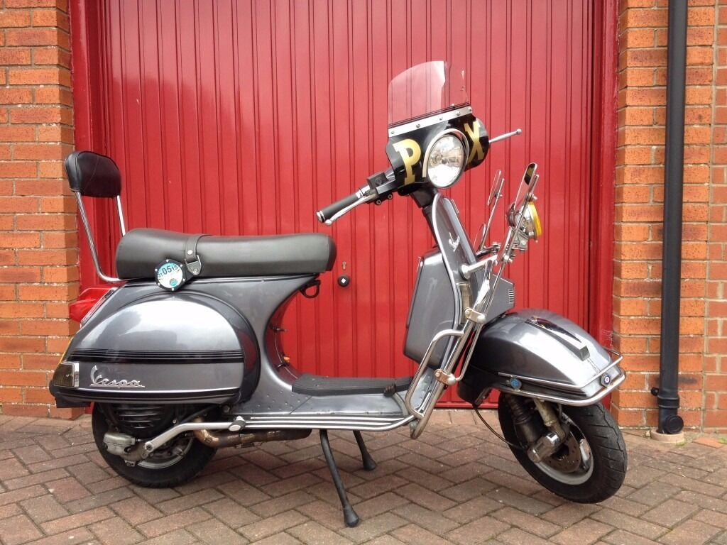 vespa px 125 177cc in east calder west lothian gumtree. Black Bedroom Furniture Sets. Home Design Ideas