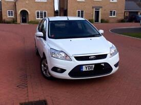 FORD FOCUS 1.6 WHITE 5DOOR MAY PX