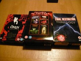 horror boxsets dvd