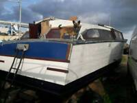Broads cruiser house boat project