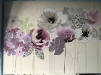 Next picture canvas (purple flowers )