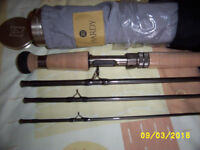 "Hardy Marksman S-Series 11Ft 6"" salmon fly rod NEW Unused"