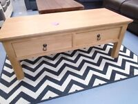 Brand New Oak Coffee Table. Already Built And Can Deliver. RRP £349.99. Size H47, W120, D50cm.
