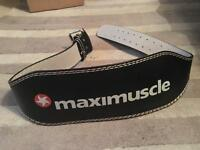 Maximuscle Weight Lifting Belt
