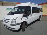 2010 ford transit 17 seater bus 3 in stock 40000 kms with all certs seatbelt etc