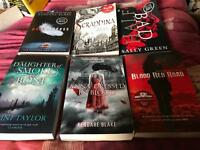 6 teen books!