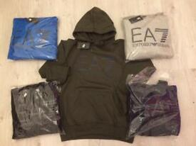 Men's hooded jumpers