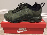 Brand New - Nike Air Max TN Khaki Green Trainers - all sizes / other designs