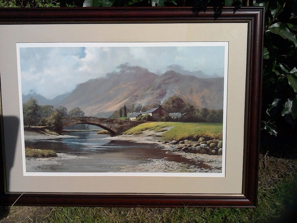Large Lake District Print By Peter Symonds In