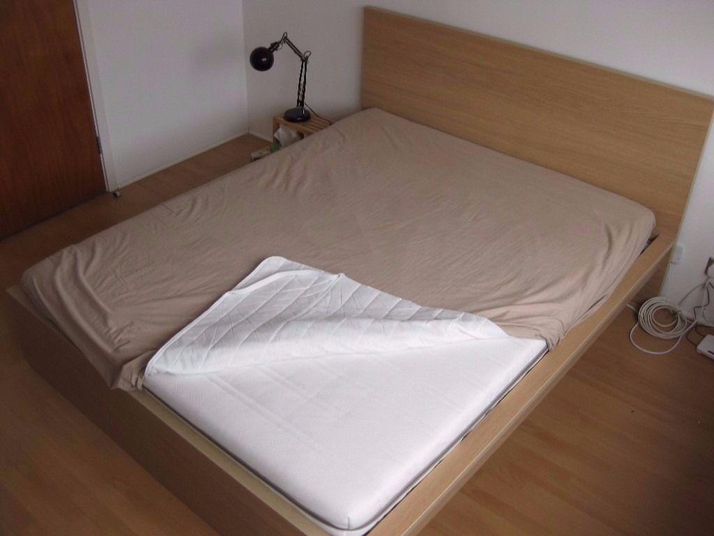 ikea malm bed high