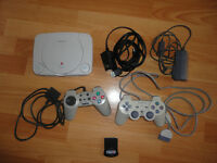 SONY PlayStation One Console + Extras For Spares or Repairs Morden SM4