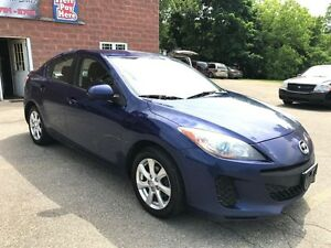 2012 Mazda MAZDA3 ONE OWNER - NO ACCIDENT - SAFETY & WARRANTY IN
