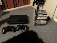 Ps3 super slim + games