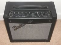 "Fender Mustang I , 1x8"" Modelling Amp Combo Digital Modelling Amp with Effects and more !"