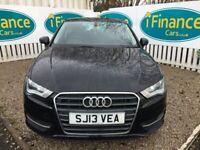 Audi A3 1.4 TFSI SE, 2013, Manual - £63 PER WEEK - CAR IS £8995