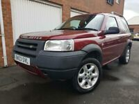 Used, 2003 03 Land Rover Freelander 2.0 TD4 *Hardback*3 Door*Manual*4x4*Not Discovery Shogun X3 Pajero for sale  Holbeck, West Yorkshire