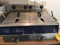 Kestrel by falcon electric table top fryer