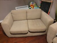 3 seater sofa and 2 seater sofa Debenhams Oatmeal