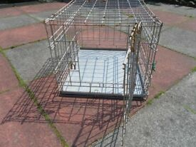 Travel cage for pet