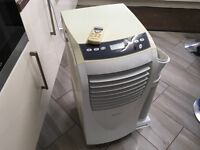 Portable Air Conditioner/Dehumidifier/Heating/Fan Remote With Exhaust Hose 4in1