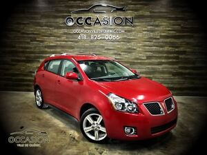 2009 Pontiac Vibe 53000KM ! AUTOMATIQUE 2.4L MAGS 54$/SEM
