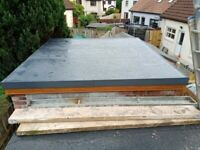 Flat roofing services and maintenance
