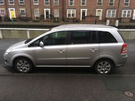 Vauxhall Zafira 1.8 petrol ELITE model full leather 56000mls excellent condition.