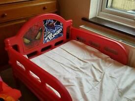 Child spidermam bed